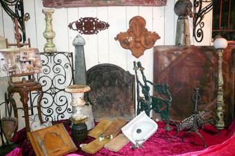 Antiquitäten des Gebäudes