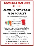 Marché aux Puces 4 Mai 2019