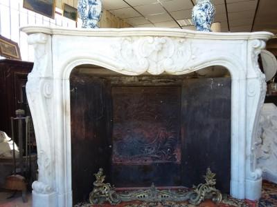 CHEMINÉE LOUIS XV - Cheminées anciennes