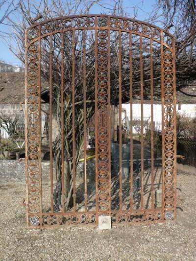 Schmiedeeisen Tor - Garten Ornamente