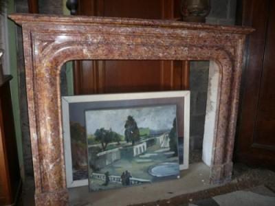 Antiken Kamin der Zeit Napoleon III-Stil Louis XIV - Antike Kamine