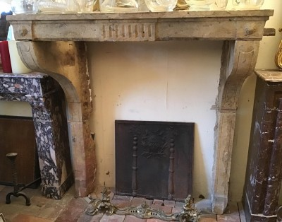 - Antique fireplaces