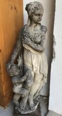 STATUE EN PIERRE - Antiquités de jardin