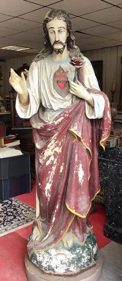STATUE RELIGIEUSE - Antiquités de jardin