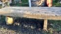 BANC EN PIERRE - Antiquités de jardin