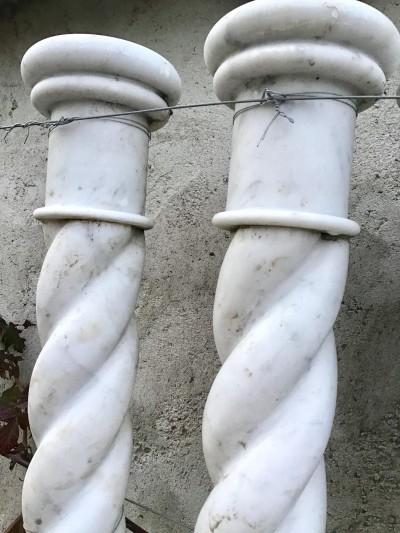 COLONNE - Antiquités de jardin