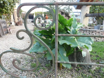 Handrail in cast iron - Building Antiques