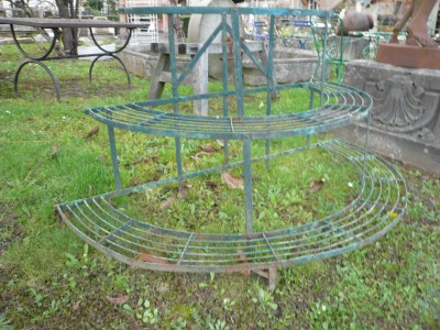 Various pots carrier in wrought iron - Building Antiques