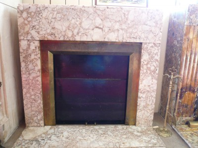 ART DECO FIREPLACE - Antique fireplaces