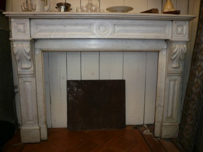 LOUIS PHILIPPE FIREPLACE  - Antique fireplaces