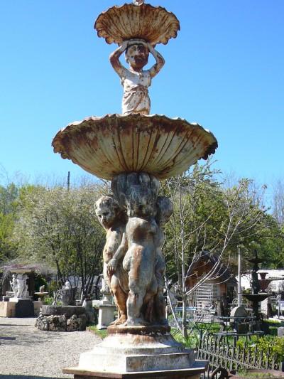 FONTAINE FONTE - Antiquités de jardin