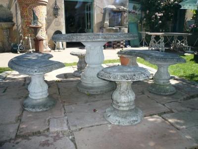 SALON DE JARDIN - Antiquités de jardin