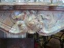 MARBLE SARRANCOLIN FIREPLACE  - Antique fireplaces