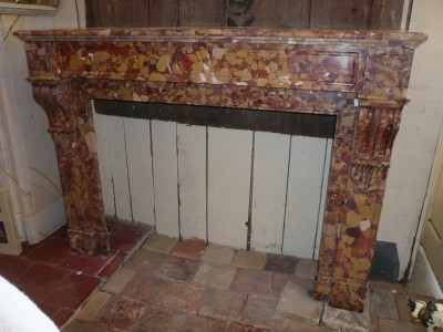 LOUIS PHILLIPE FIREPLACE - Antique fireplaces
